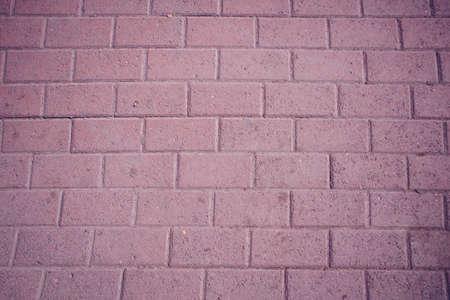 Textured: pink asphalt brick close - up as background Stok Fotoğraf
