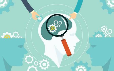 zakelijke geautomatiseerde begrip productieproces procesautomatisering illustratie