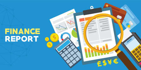 Finance report and financial analysis