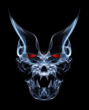 abstract smoke devil  Standard-Bild