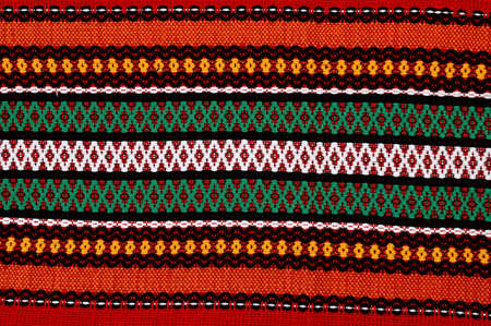 ukranian:   Traditional bulgarian embroidery .The russian,ukranian ,serbian,ungarian,turkish ,greek,serbian ebroideryes are similar, can use present these cuntries. Stock Photo