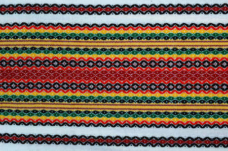 Traditional bulgarian embroidery .The russian,ukranian ,serbian,ungarian,turkish ,greek,serbian ebroideryes are similar, can use present these cuntries. Stock Photo - 12146056