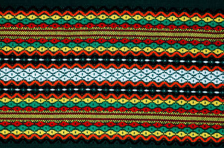 Traditional bulgarian embroidery .The russian,ukranian ,serbian,ungarian,turkish ,greek,serbian ebroideryes are similar, can use present these cuntries. photo