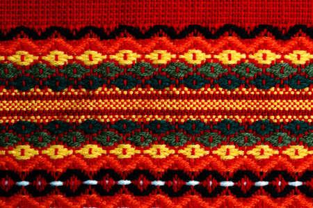 Tradycyjny bułgarski haft. Rosyjski, ukraiński, serbski, ungarian, turecki, grecki, serbski ebroideryes są podobne, można użyć przedstawienia tych cuntries. Zdjęcie Seryjne - 12146048
