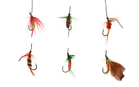 six fishhooks,selected in a file 10 mp   photo