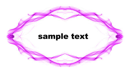 Abstract  frame with space for sample text  photo