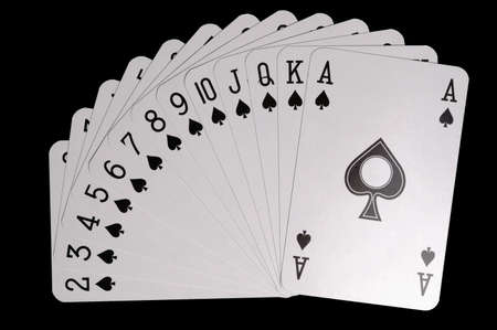 texas hold'em: suit of spades