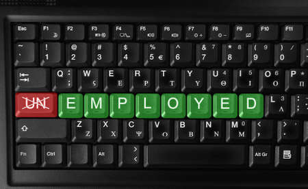 Changing unemployed to employed Recruitment or Employment Issues   photo