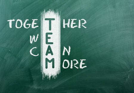 achieves: Acronym of TEAM-Together We Can More