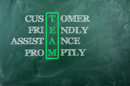 Acronum of Team -Customer ,Freindly ,Support, Promptly photo