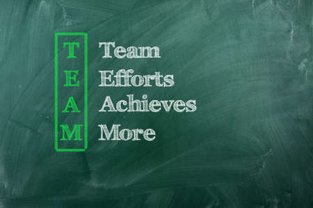 achieves: Acronum of Team - Team, Efforts, Achieves, More