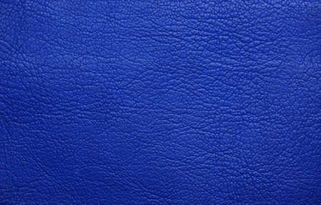 Blue   leather texture closeup, useful as background photo