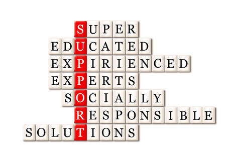 socially: customer support concept-super educated expirienced experts ,socially responsible