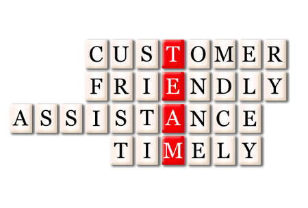 timely: Acronym of Team - customer friendlyservice,timely