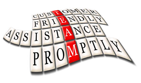 promptly: Acronym of Team - customer friendly assistance,promptly