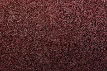 Closeup of seamless red brown  leather texture  photo