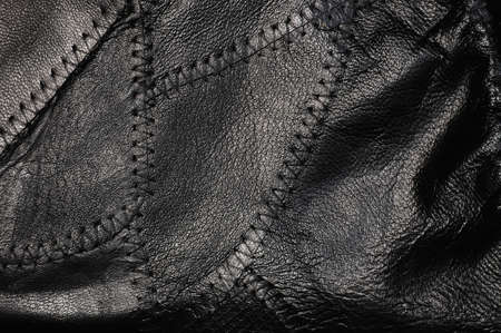 tailor seat: black leather with stitches  background  See my portfolio for more backgrounds