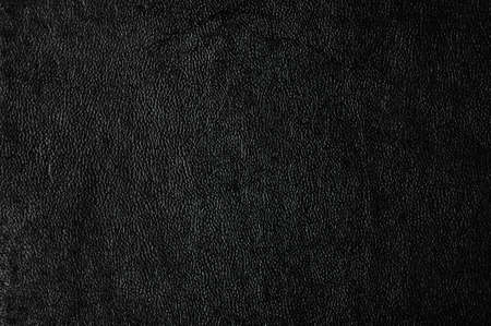 Closeup of seamless black leather texture  Stock Photo