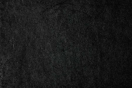Closeup of seamless black leather texture  Standard-Bild