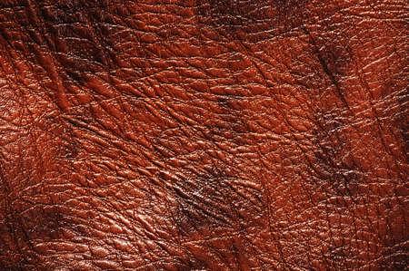 Closeup von nahtlosen Luxus braunem Leder Textur