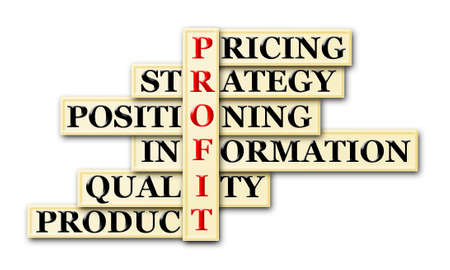acronym: Profit and other related words in crossword
