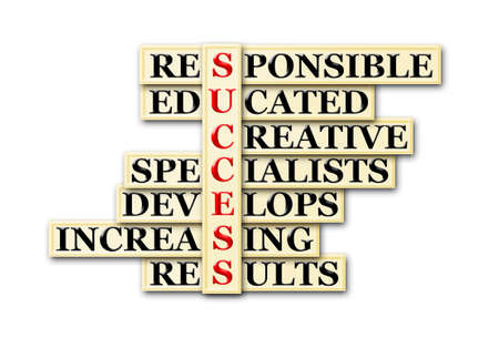educated: acronym of success- responsible,educated,creative,specialists