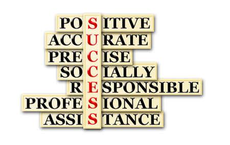 socially: acronym of success- positive,accurate,precise,socially....