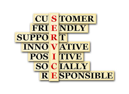 communicative: acronym concept of Service  and other releated words