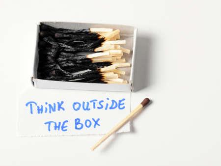 mach: Mach  box - think outside the box concept