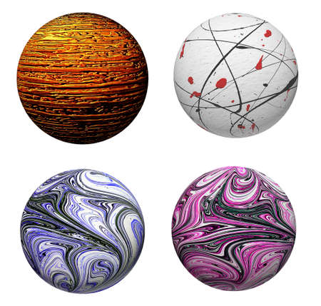 Collection of attractive decorative colored balls. Suitable for Christmas and more. Stock Photo - 23990787