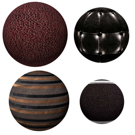 Collection of attractive decorative colored balls. Suitable for Christmas and more. photo
