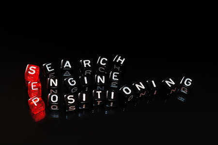 sep: SEP Search Engine Positioning text written  on cubes