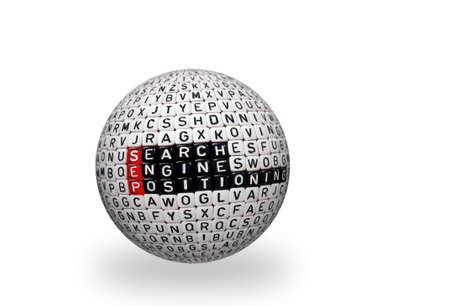 sep: SEP Search Engine Positioning text written  on cubes on 3d sphere
