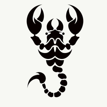 scorpion vector tattoo