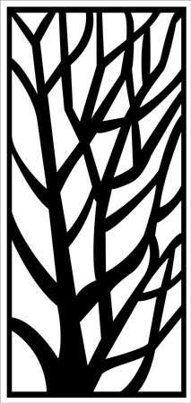 window ornament Vektorové ilustrace