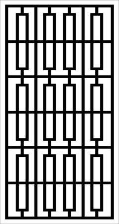 window vector ornament design Vektorové ilustrace