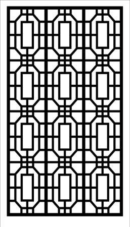 window vector ornament design
