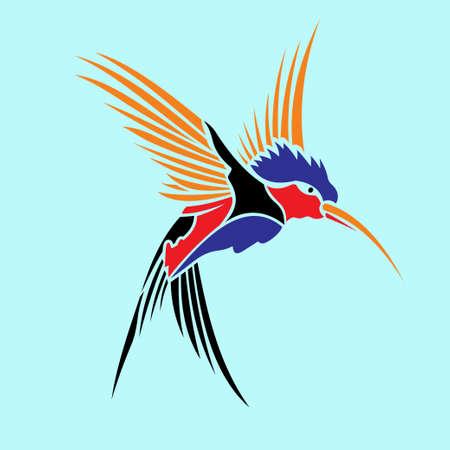 BIRD VECTOR ILLUSATRATION