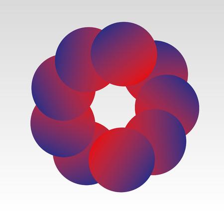 circles: Circles Abstract Logo