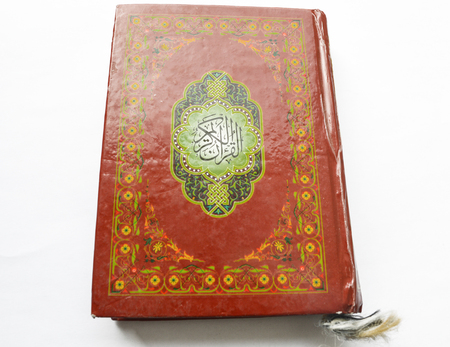 quran isolated on white