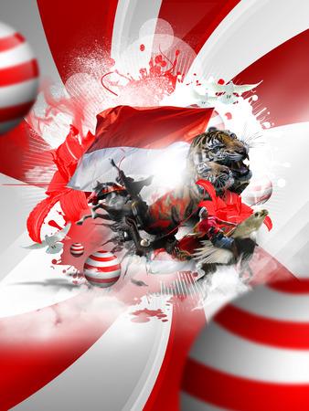 merdeka: indonesia independence day