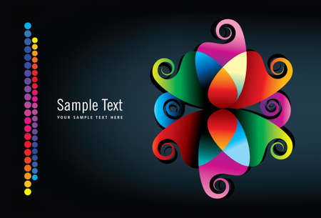 Abstract background - Illustration Vector