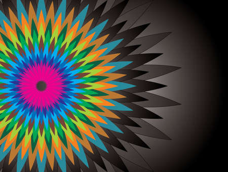 abstract colorful shape background - Illustration Vectores