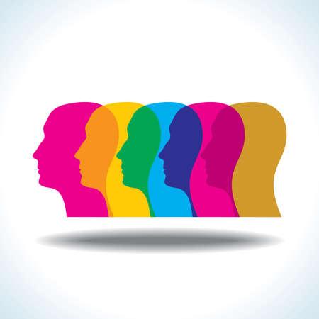 Head - Illustration Vector