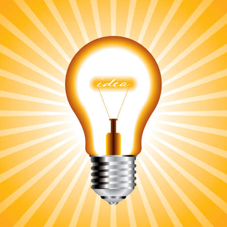 idea bulb- illustration Vector