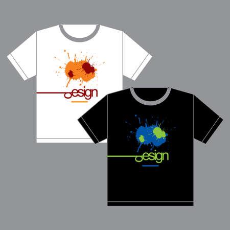 Crazy t-shirts Illustration Vector