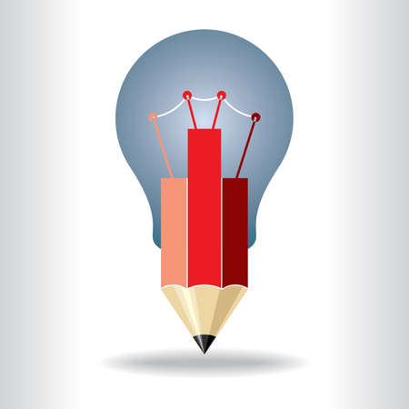 inventor: Best idea concept creative - Illustration