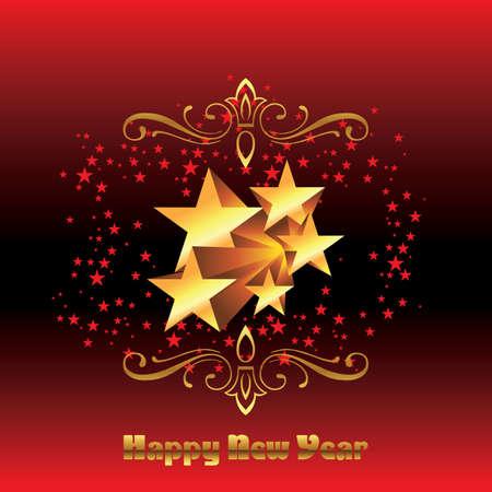 advent calendar: Christmas card - Illustration