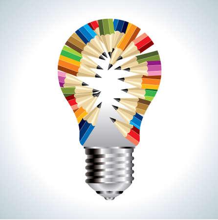 idea educazione creativa - Illustrazione
