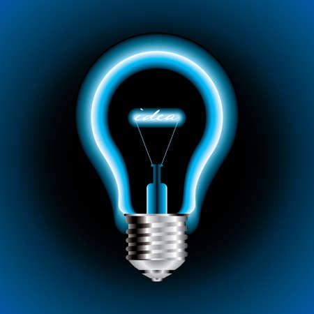 luz natural: Ilustraci�n del bulbo